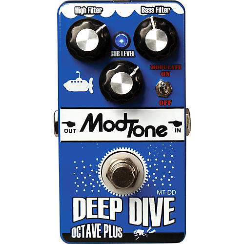 Modtone MT-DD Deep Dive Octave Plus Guitar Effects Pedal-thumbnail