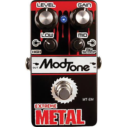 Modtone MT-EM Extreme Metal Guitar Effects Pedal