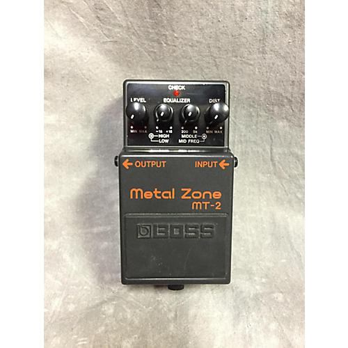 Boss MT2 Metal Zone Distortion BK Effect Pedal