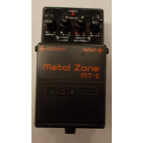 Boss MT2 Metal Zone Distortion Black Effect Pedal