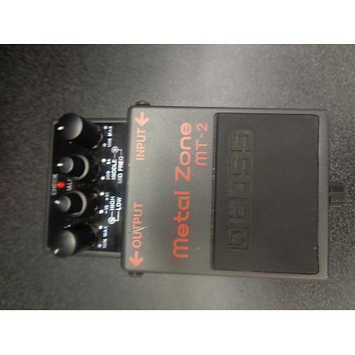 Boss MT2 Metal Zone Distortion ELEC PEDAL-E VOLUME