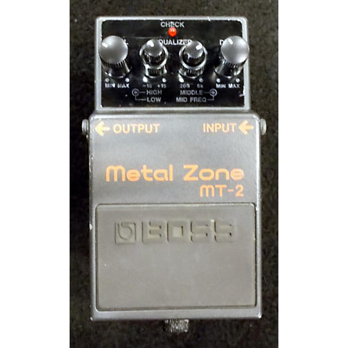 Boss MT2 Metal Zone Distortion Effect Pedal-thumbnail