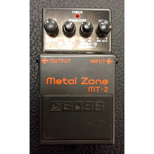 Boss MT2 Metal Zone Distortion Effect Pedal