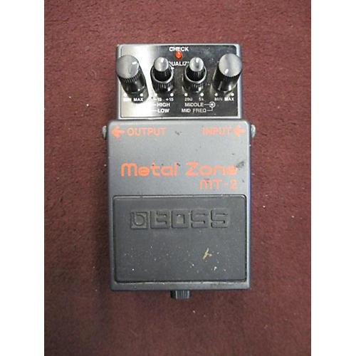 Boss MT2 Metal Zone Distortion Effect Pedal-thumbnail