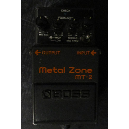 Boss MT2 Metal Zone Distortion Keeley Mod Effect Pedal-thumbnail