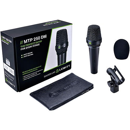 Lewitt Audio Microphones MTP 240 DMs Cardioid Dynamic Microphone with On/Off Switch-thumbnail