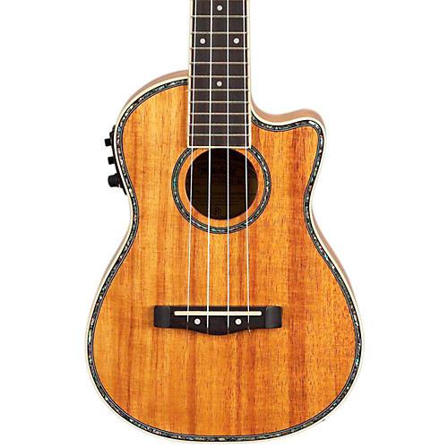mitchell mu100ce acoustic electric concert ukulele natural koa guitar center. Black Bedroom Furniture Sets. Home Design Ideas
