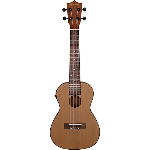 Mitchell MU50SE Acoustic-Electric Concert Ukulele with Solid Cedar Top