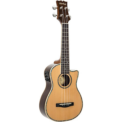Mitchell MU70CE Cutaway Acoustic-Electric Concert Ukulele