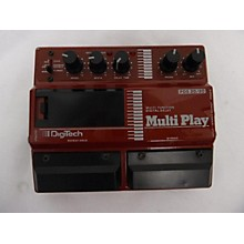 Digitech MULTI PLAY Effect Pedal
