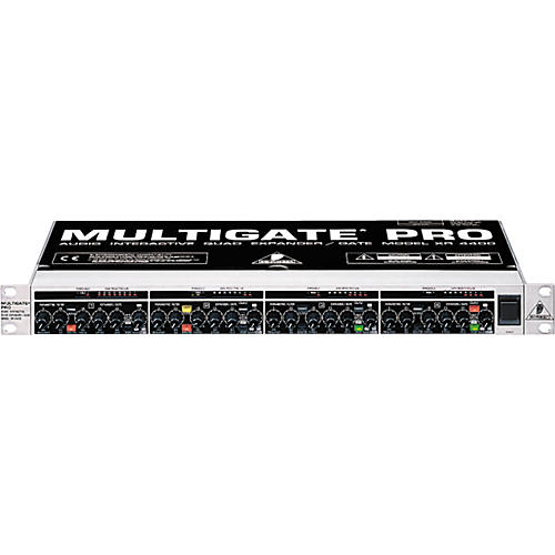 how to use behringer multicom pro xl mdx4600