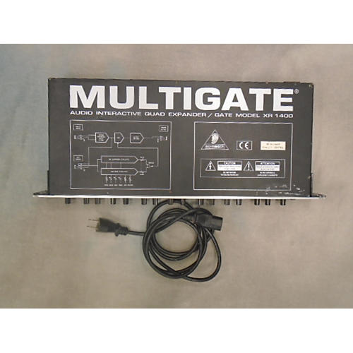 used behringer multigate xr1400 noise gate guitar center. Black Bedroom Furniture Sets. Home Design Ideas