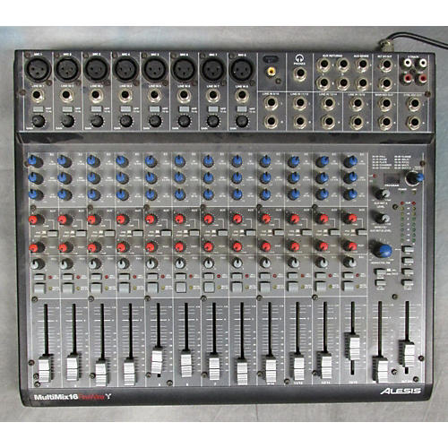 Alesis MULTIMIX 16 FIREWIRE Unpowered Mixer-thumbnail