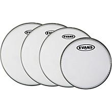 Evans MX White Tenor Drumhead 4-Pack
