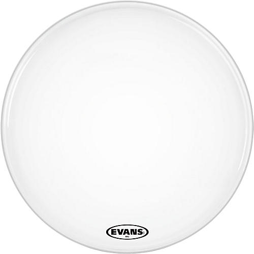 Evans MX2 White Marching Bass Head-thumbnail
