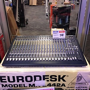 Click to buy Pre-owned Behringer MX2442A Unpowered Mixer by Behringer.