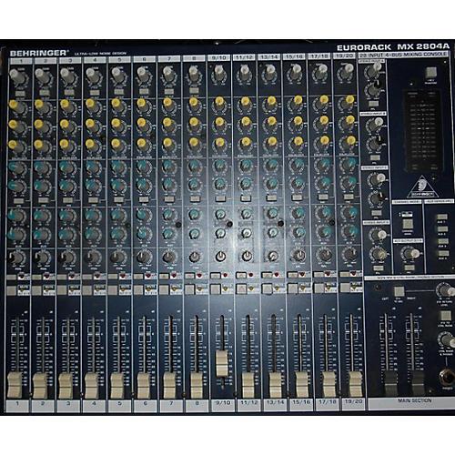 Behringer MX2804A Mixer Powered Mixer
