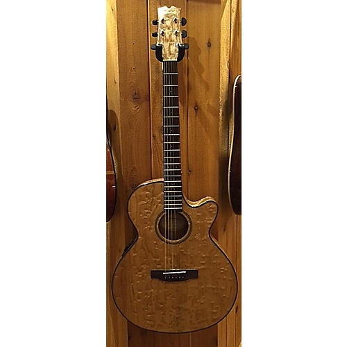 Mitchell MX400 QAB NAT Acoustic Electric Guitar