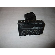Behringer MX400 Unpowered Mixer