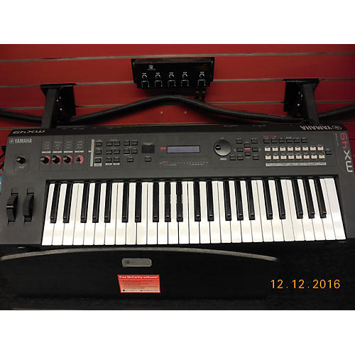 used yamaha mx49 49 key keyboard workstation guitar center