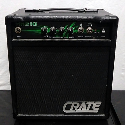 used crate mxb10 bass combo amp guitar center. Black Bedroom Furniture Sets. Home Design Ideas