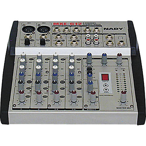 Nady MXE-612 6-Channel Stereo Mic/Line Mixer with DSP Effects
