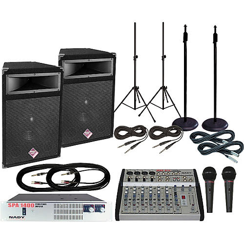 Nady MXE-812/PTS515 PA Package