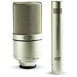 MXL 990/991 Recording Microphone Package (MXL 990/991)