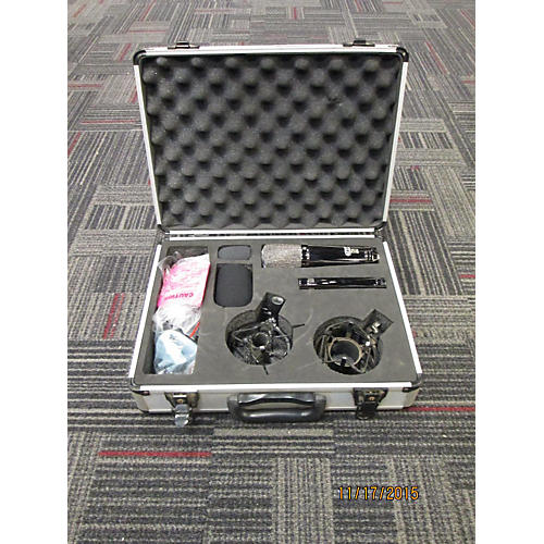 In Store Used MXL CR24 Black Chrome Mic Kit Recording Microphone Pack