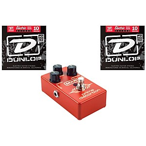 Dunlop MXR M69 Pedal with Two Sets of Dunlop DEN1046 Strings
