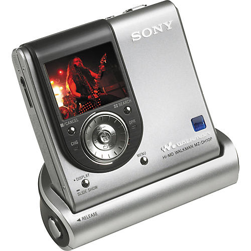 Sony MZ-DH10P Hi-MD Walkman Digital Music Player with Camera Functions