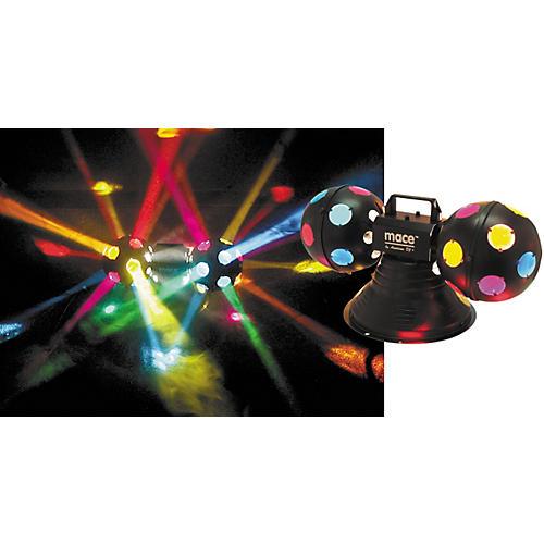 American DJ Mace II Multi-Colored Dual Rotating Balls-thumbnail