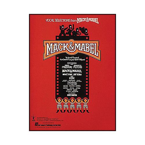 Hal Leonard Mack & Mabel Vocal Selections Songbook-thumbnail