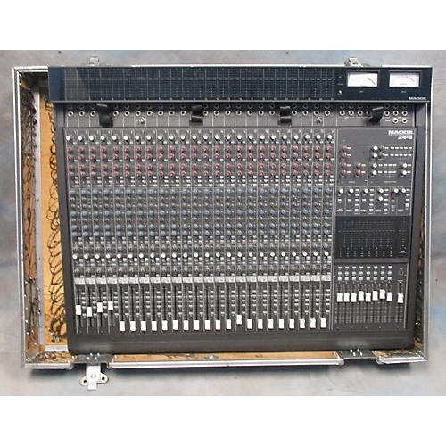 used mackie mackie 24 8 bus audio mixing console w power supply unpowered mixer guitar center. Black Bedroom Furniture Sets. Home Design Ideas