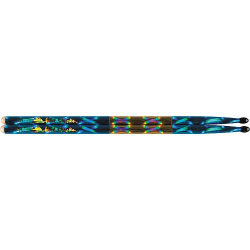 Hot Sticks Macrolus Strike Zone XL Blue Optic Drumsticks
