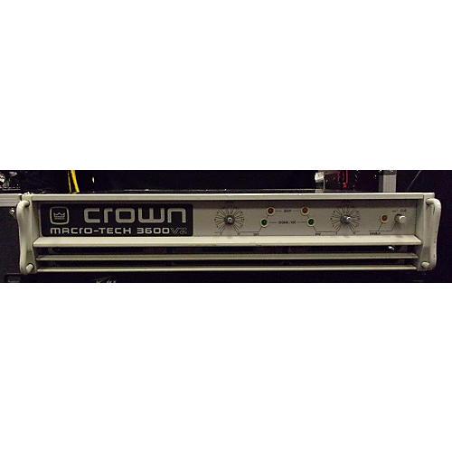 Crown Macrotech Ma3600vz Power Amp