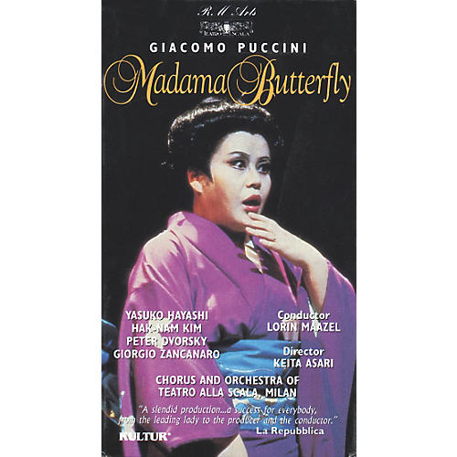 Kultur Madame Butterfly Video