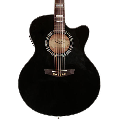 D'Angelico Madison Jumbo Cutaway Acoustic-Electric Guitar-thumbnail