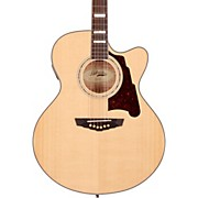 D'Angelico Madison Jumbo Cutaway Acoustic-Electric Guitar