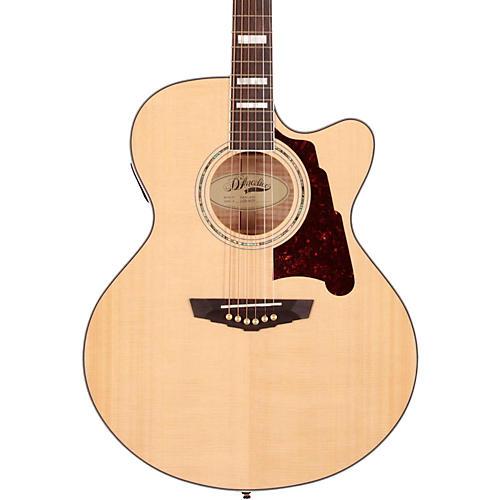 D'Angelico Madison Jumbo Cutaway Acoustic-Electric Guitar