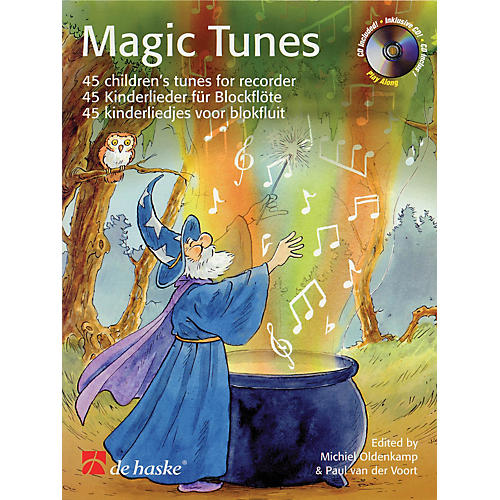 De Haske Music Magic Tunes (45 Children's Tunes for Recorder) De Haske Play-Along Book Series