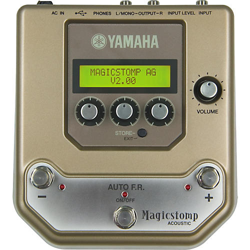 Yamaha Magicstomp Acoustic Review