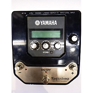 Pre-owned Yamaha Magicstomp Bass Processor Effect Processor