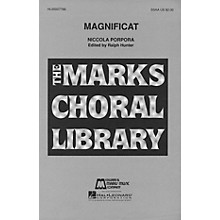 Edward B. Marks Music Company Magnificat SSAA composed by Niccola Porpora
