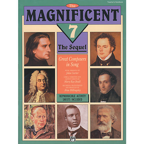 Alfred Magnificent 7: The Sequel Teachers Handbook with Reproducible Activity Sheets