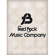 Fred Bock Music Magnify, Glorify SATB Arranged by Fred Bock