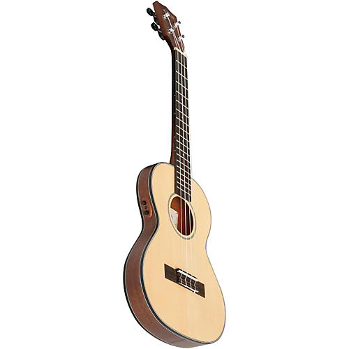 Kala Mahogany Travel Tenor Acoustic-Electric Ukulele-thumbnail