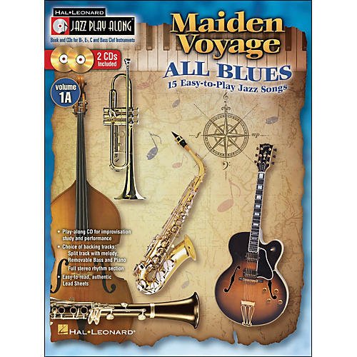hal leonard maiden voyage all blues jazz play along vol 1a book 2 cds 15 easy to play jazz. Black Bedroom Furniture Sets. Home Design Ideas