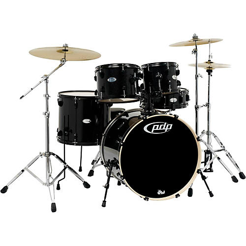 PDP by DW Mainstage 5-Piece Drum Set w/Hardware and Paiste Cymbals-thumbnail