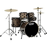 Mainstage 5-Piece Drum Set w/Hardware and Paiste Cymbals Bronze Metallic